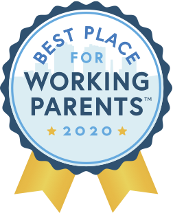 Best Place for Working Parents Badge