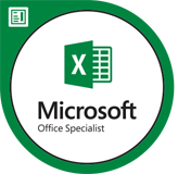 Microsoft Office Specialist Badge